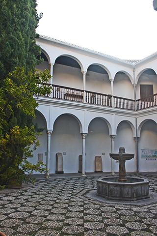 Patio Museo Arqueológico Granada