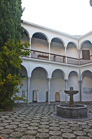 Patio interior Museo Arqueologico
