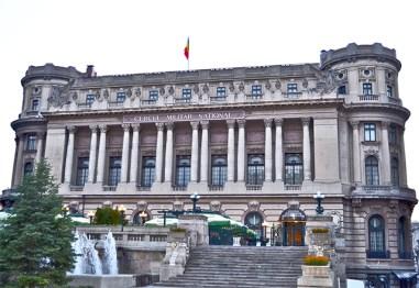 Fachada Cercul Militar National Bucarest