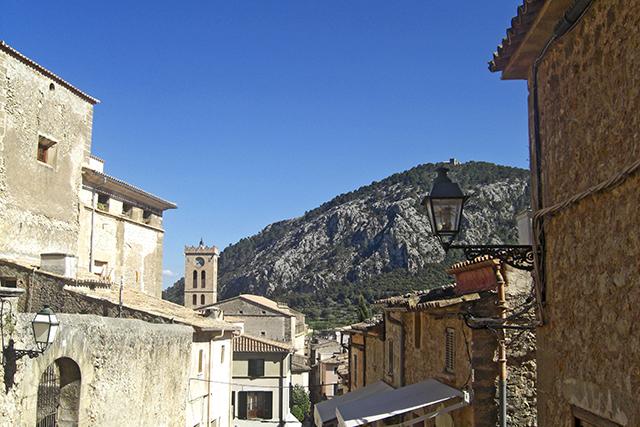 Escalera El Calvario Pollença Mallorca