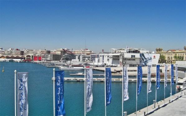 Port de la Marina Nautica reconstruit per a la 32nd Americas Cup