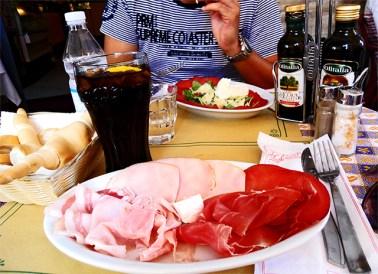 Prosciutto Emilia Romagna prosciutto di Parma restaurante Ferrara