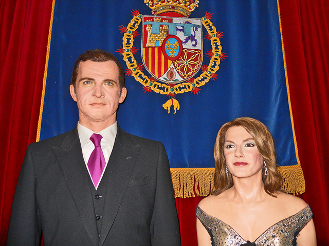 Felipe VI Leticia Ortiz Museo Cera Madrid