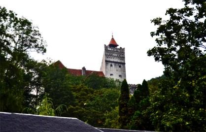 Panorámica Castillo Bran Dracula Rumanía