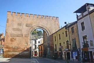 Puerta de Elvira arquitectura militar hispanomusulmana Granada