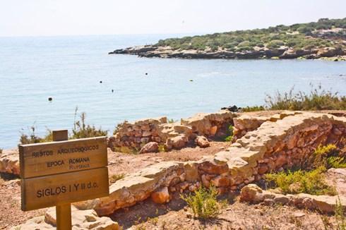 Reliquias en las proximidades de la Costa Murciana