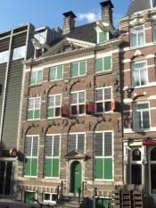 Fachada casa museo Rembrandt Amsterdam