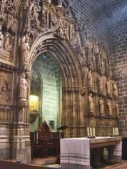 Retablo altar mayor Santo Cáliz Catedral Basílica Valencia