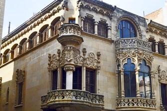 Balcón Modernismo Casa Navas centro histórico Reus