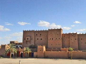 Fachada Kasbah Ouarzazate Marrakech