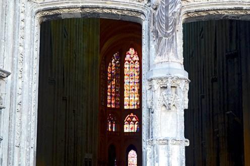 Vidrieras interiores Iglesia San Gaetano Tours