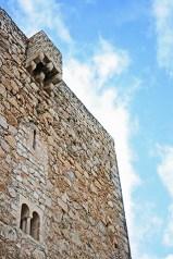 Torre piedra Castillo Santa Catalina Jaén