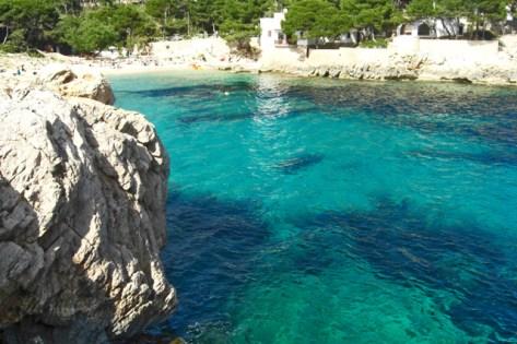 Agua turquesa Cala Gat Mallorca