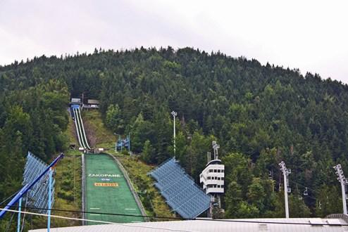 Pista lanzamiento esquí zakopane Polonia