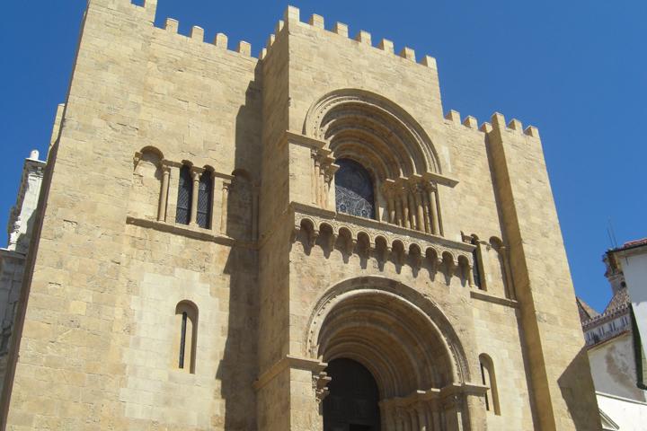Catderal vieja centro histórico Coimbra