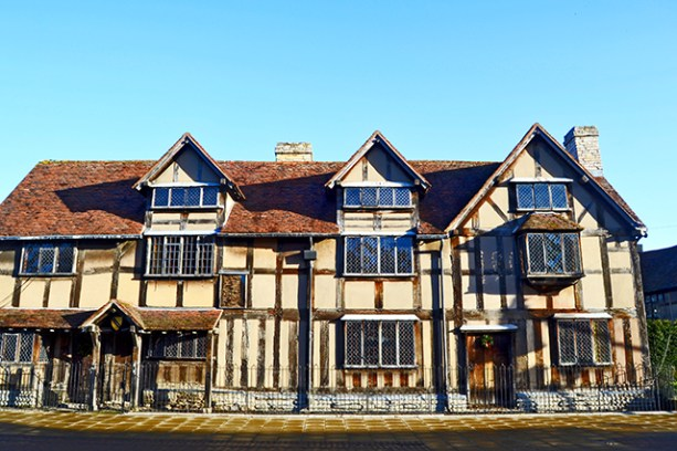 Fachada casa natal William Shakespeare Stratford-Upon-Avon