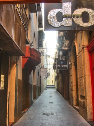 Entrada pubs Barrio Alicante