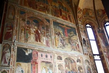 Frescos interior Cappella Scrovegni Padua