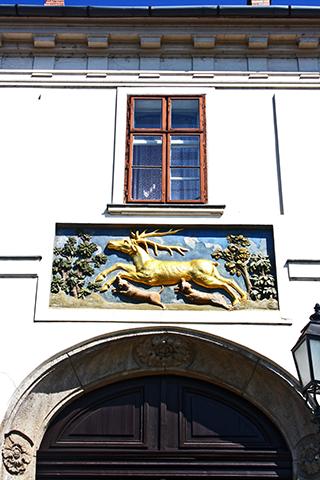 Casa Ciervo Dorado fachada Budapest