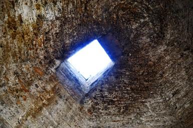Ventana luz interior Forum Circo Tarragona Patrimonio Humanidad