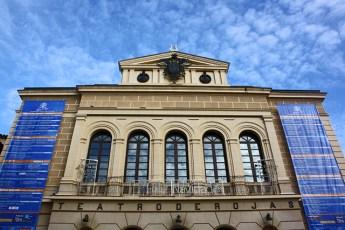 Teatro de Rojas entre elementos clasicos e interiores barrocos