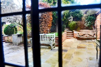 Pation interior The Halls Croft Stratford-Apon-Avon