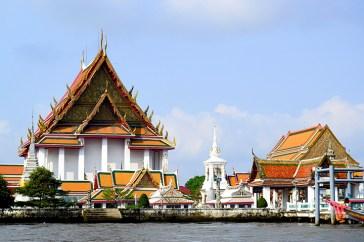 Casa de los espíritus río Chao Phraya