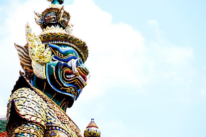 Guardia Real Palacio Real Bangkok