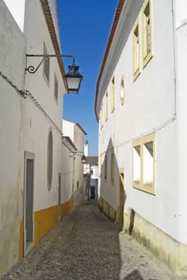 Calles blancas Évora Portugal