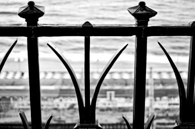 Barandilla hierro negro tocar ferro Tarragona
