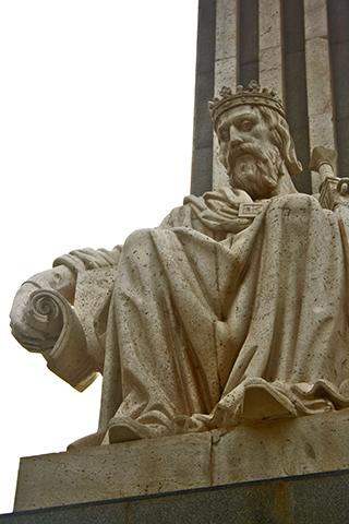 Escultura Jaume I Conquistador Villarreal Castellón