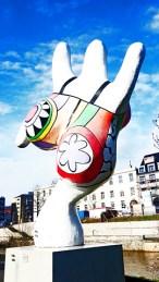 Nanas esculturas color Niki de Saint Phalle Hannover