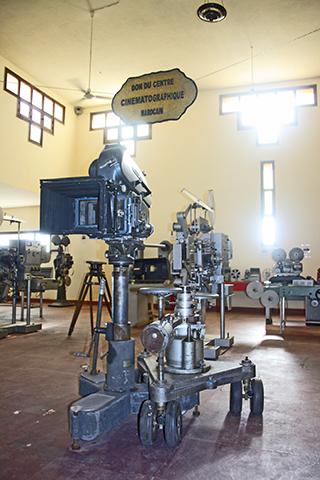 Set plató cine cámara Atlas Studios Ouarzazate Marruecos