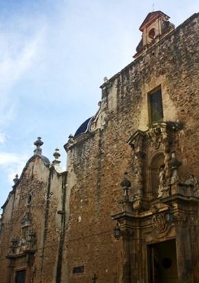 Fachada neobarroca Parroquia Asunción Nuestra Señora Onda Castellón