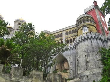 Entrada Palacio da Pena Sierra da Sintra