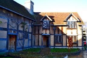 Casa natal William Shakespeare teatro Stratford-Apon-Avon