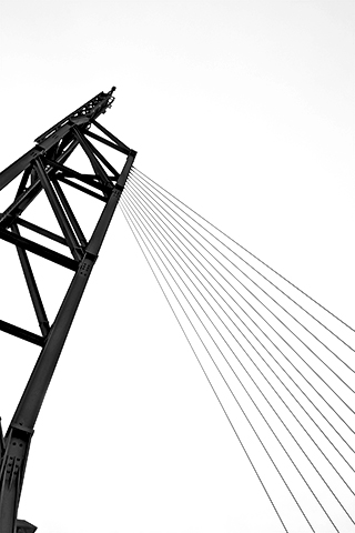 Grúa cables Bremerhaven Alemania