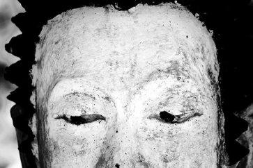 Ojos mirada buda blanco Lampang