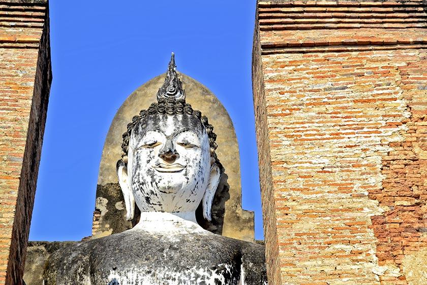 Buda Phra Attharot Sukhothai