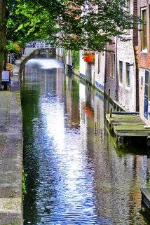reflejo canal Alkmaar Holanda