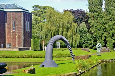 Vistas esculturas Museumpark Rotterdam