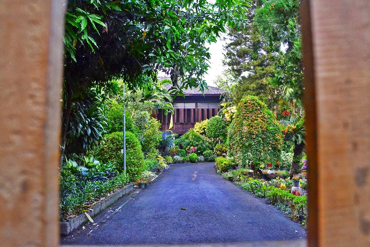 Vallas palacio privado calles Chiang Mai