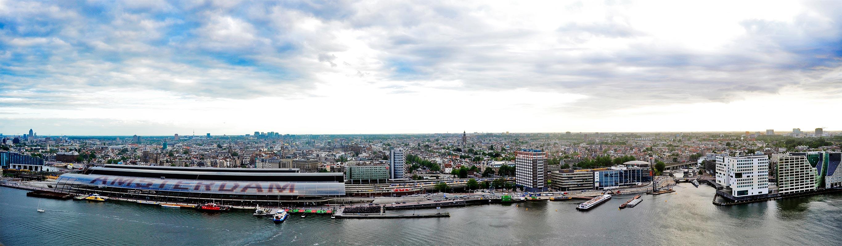 Vistas panorámica Amsterdam 360 grados Adam Torem