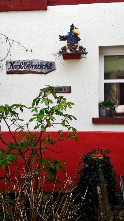 Pájaro decoración madera jardín casa Gengenbach