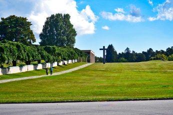 Skogskyrkogården panorámica cementerio Patrimominio Mundial Unesco Estocolmo