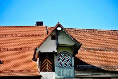 Buhardilla medieval tejados centro histórico Rottweil
