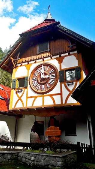 Reloj de Cuco más grande mundo Triberg Selva Negra Alemania