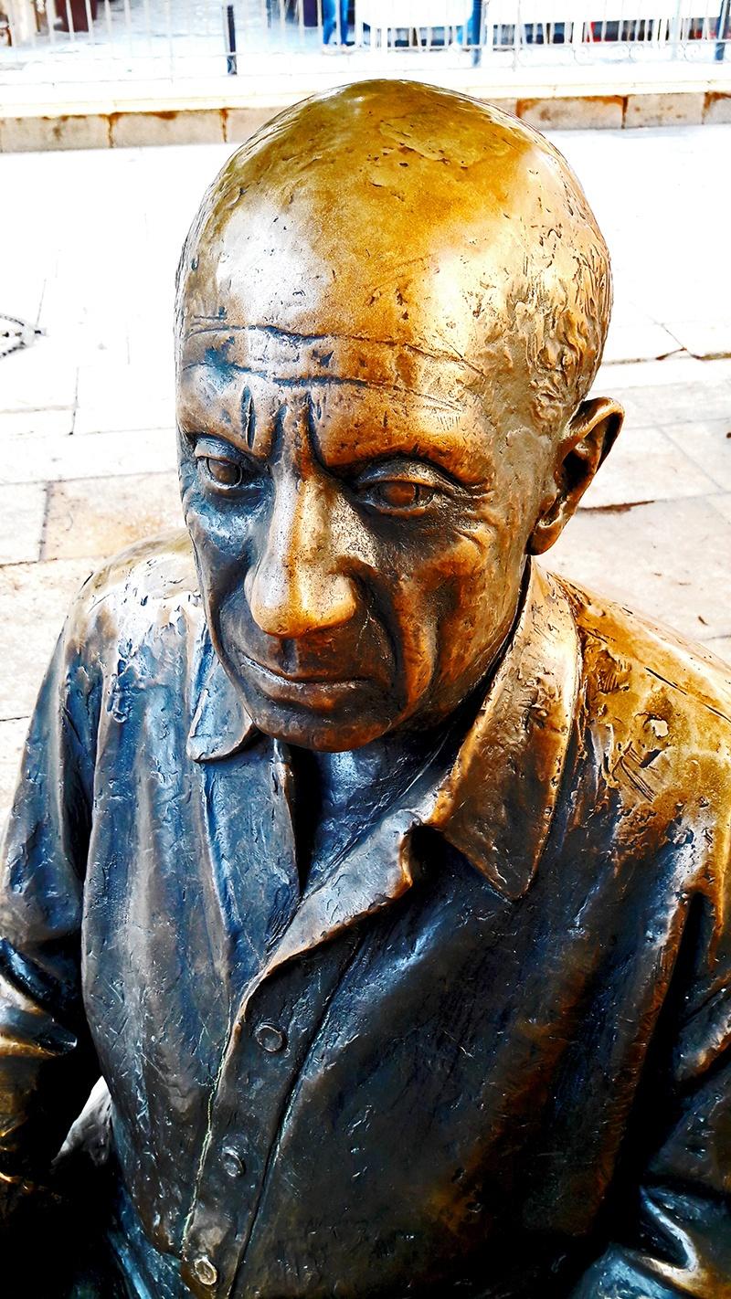 Escultura Pablo Ruiz Picasso Málaga imagen