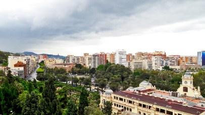 Panorámica la Malagueta Alcazaba Málaga imagen