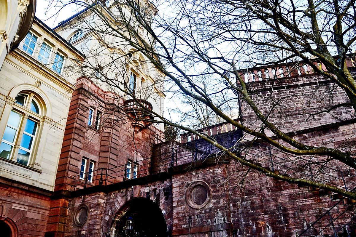 Muros paredes ladrillo balneario Friedrichsbad Baden-Baden